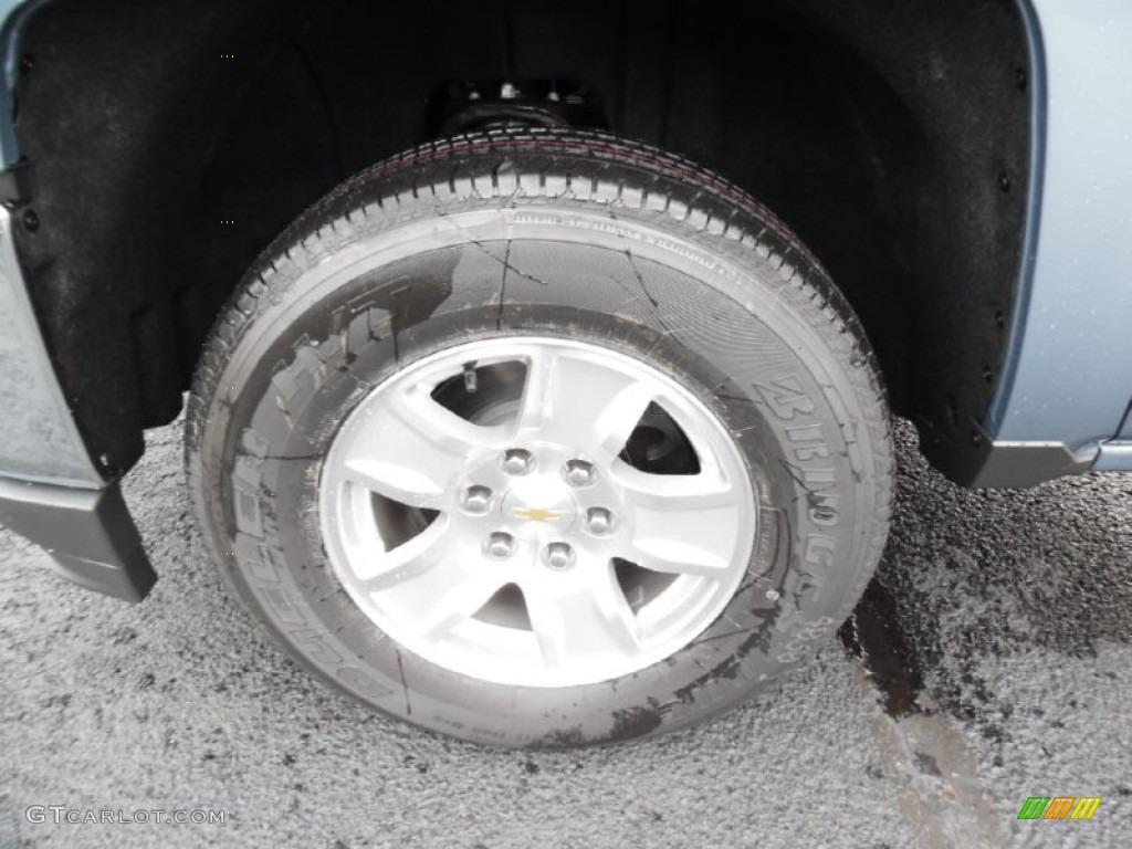 2016 Chevrolet Silverado 1500 LT Double Cab 4x4 Wheel Photo #107904066