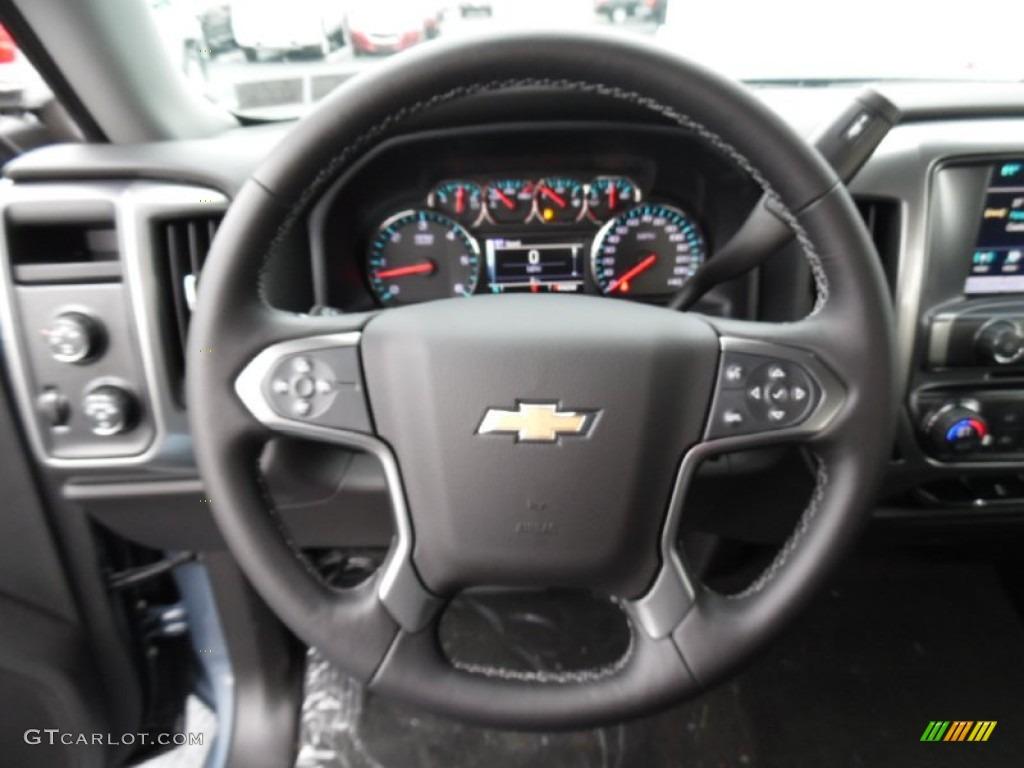 2016 Chevrolet Silverado 1500 LT Double Cab 4x4 Steering Wheel Photos