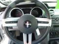 2007 Ford Mustang Light Graphite Interior Steering Wheel Photo