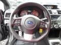 Carbon Black Steering Wheel Photo for 2015 Subaru WRX #107911470