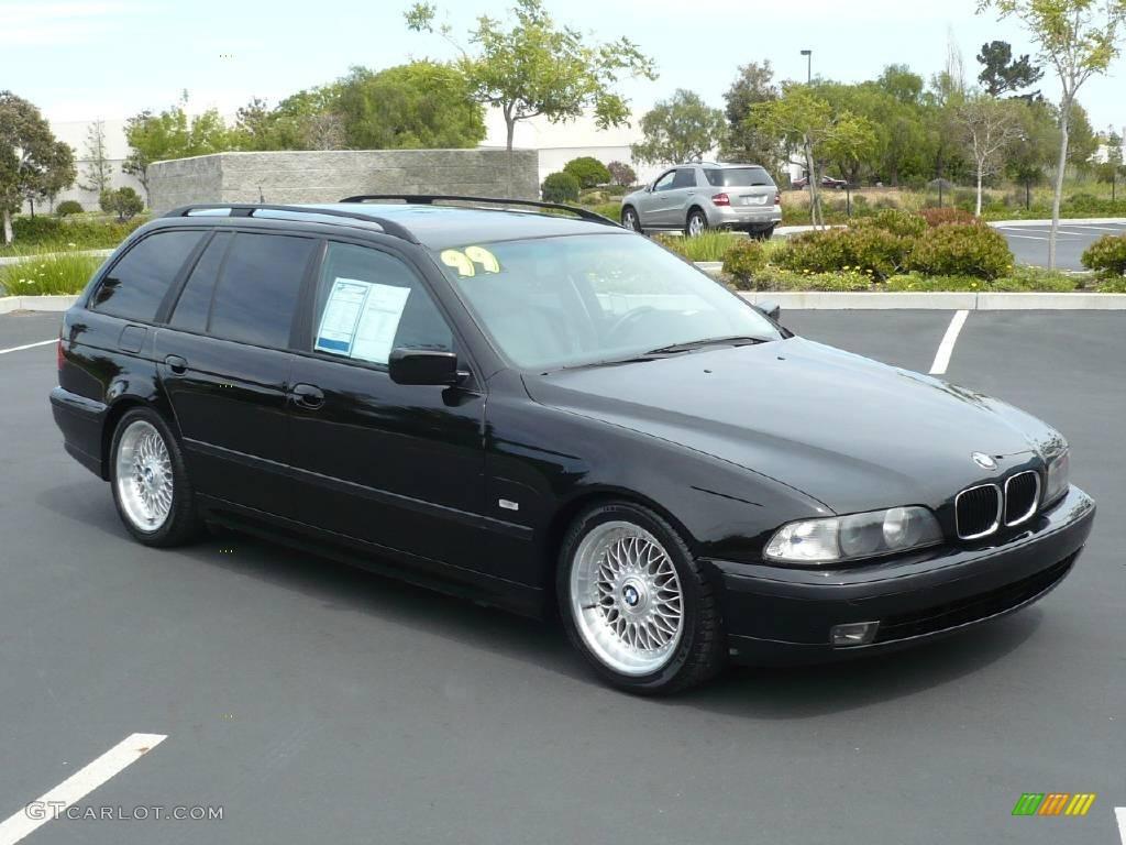 1999 jet black bmw 5 series 528i wagon 10776937 car color galleries. Black Bedroom Furniture Sets. Home Design Ideas