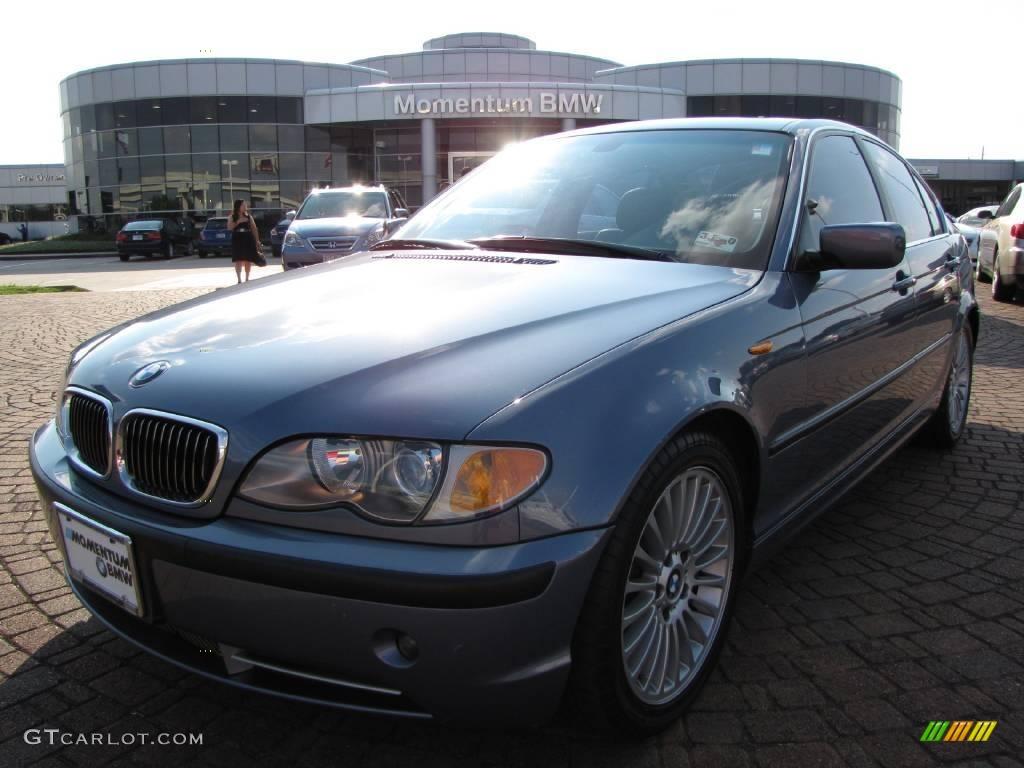 2003 steel blue metallic bmw 3 series 330i sedan 10791078 car color galleries. Black Bedroom Furniture Sets. Home Design Ideas