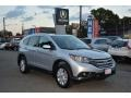 2014 Alabaster Silver Metallic Honda CR-V EX-L AWD  photo #1