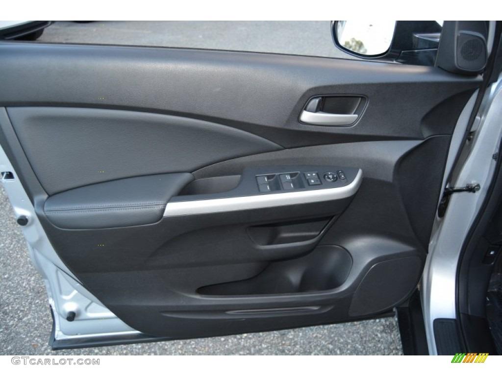 2014 CR-V EX-L AWD - Alabaster Silver Metallic / Black photo #9