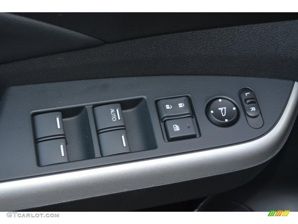 2014 CR-V EX-L AWD - Alabaster Silver Metallic / Black photo #10