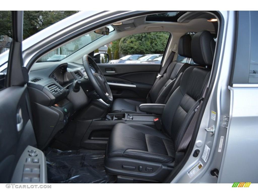 2014 CR-V EX-L AWD - Alabaster Silver Metallic / Black photo #12
