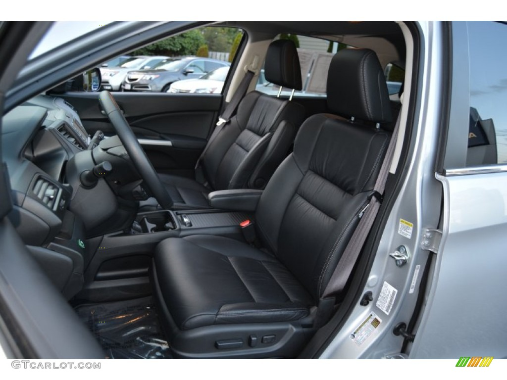 2014 CR-V EX-L AWD - Alabaster Silver Metallic / Black photo #13