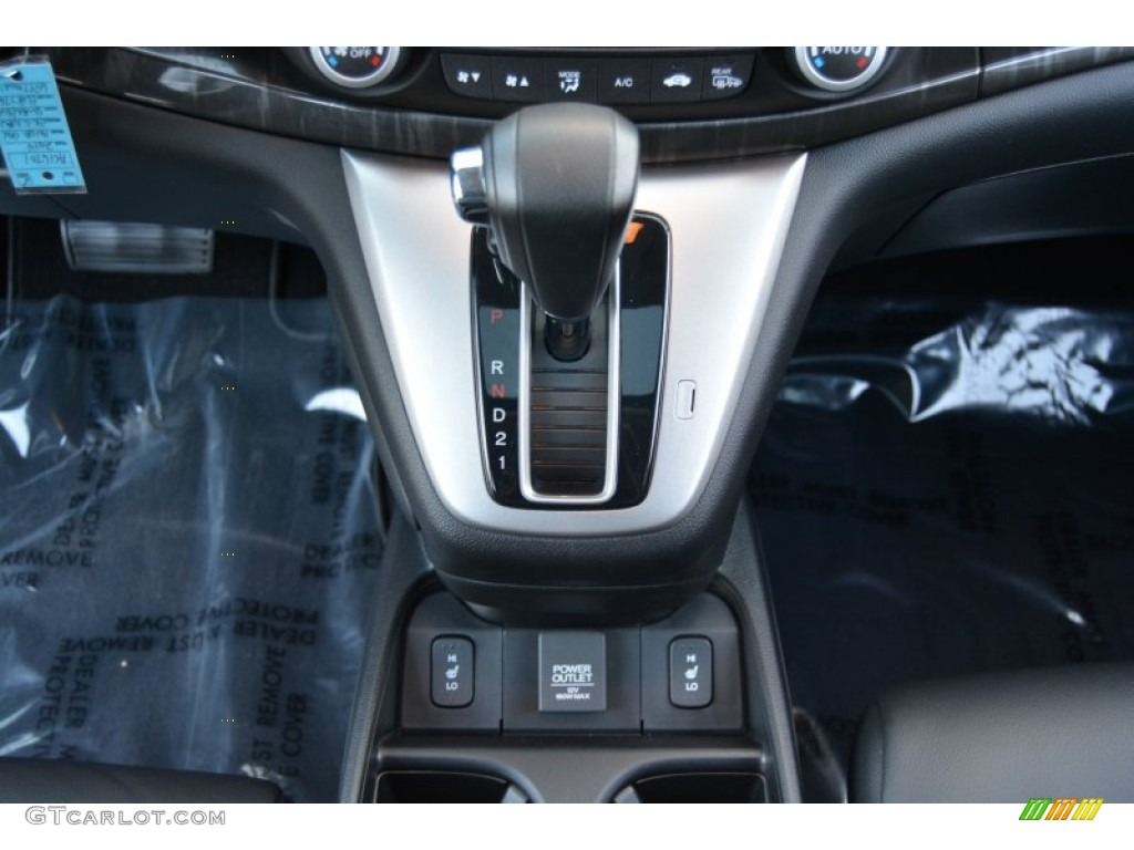 2014 CR-V EX-L AWD - Alabaster Silver Metallic / Black photo #18