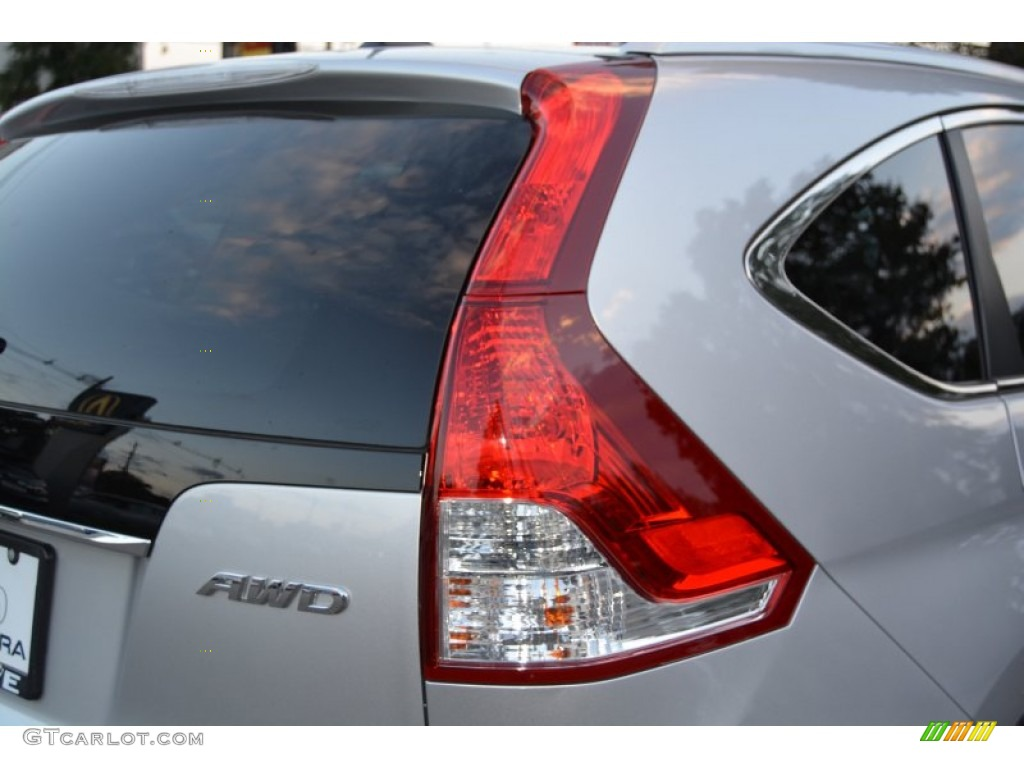 2014 CR-V EX-L AWD - Alabaster Silver Metallic / Black photo #25