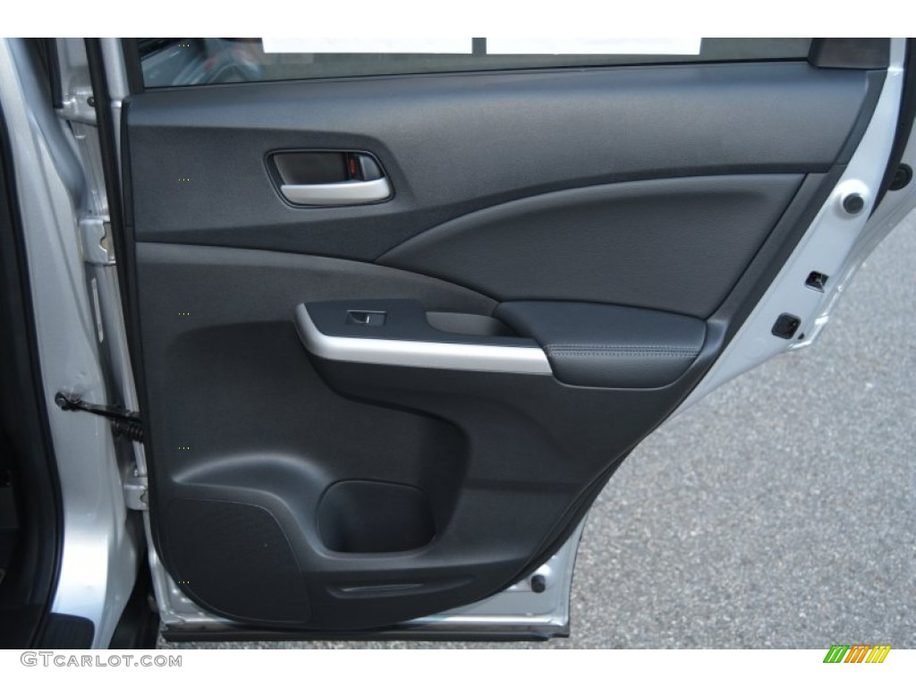 2014 CR-V EX-L AWD - Alabaster Silver Metallic / Black photo #26
