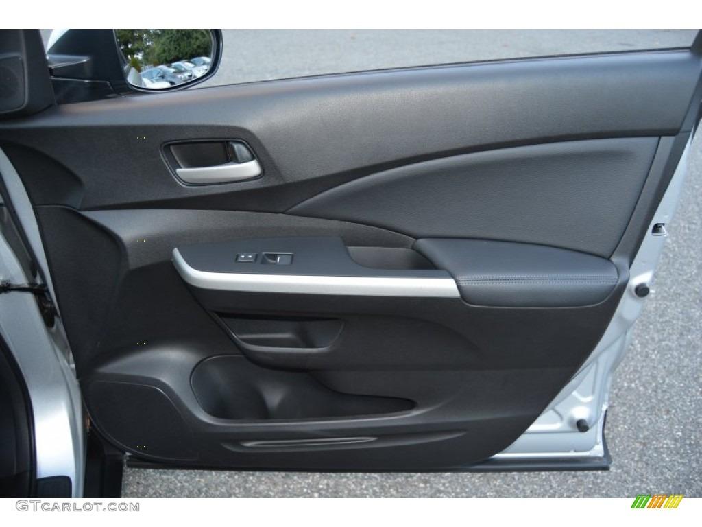 2014 CR-V EX-L AWD - Alabaster Silver Metallic / Black photo #28