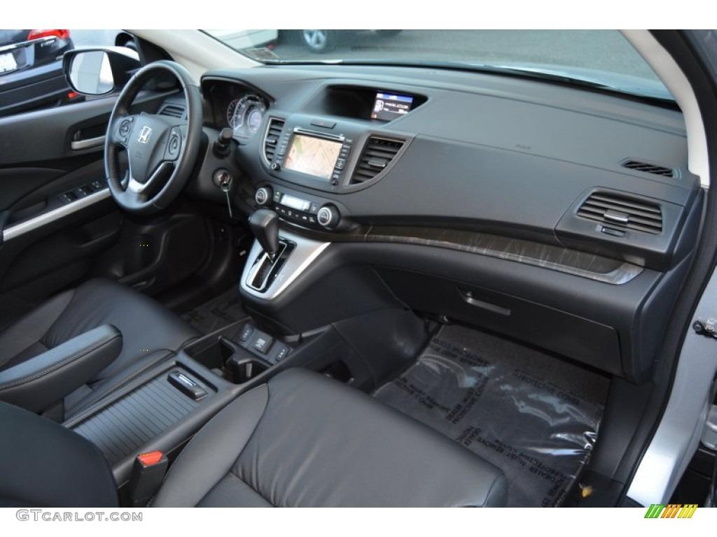2014 CR-V EX-L AWD - Alabaster Silver Metallic / Black photo #29