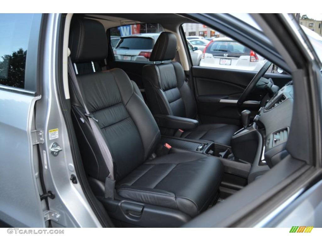 2014 CR-V EX-L AWD - Alabaster Silver Metallic / Black photo #31