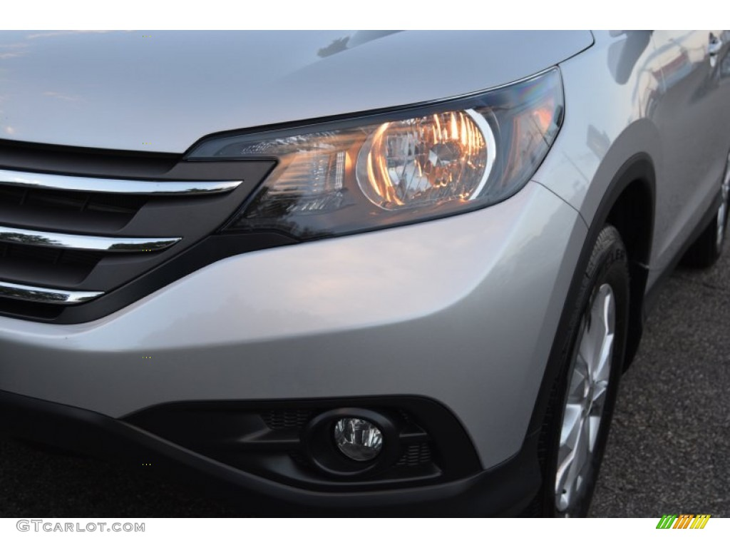 2014 CR-V EX-L AWD - Alabaster Silver Metallic / Black photo #33