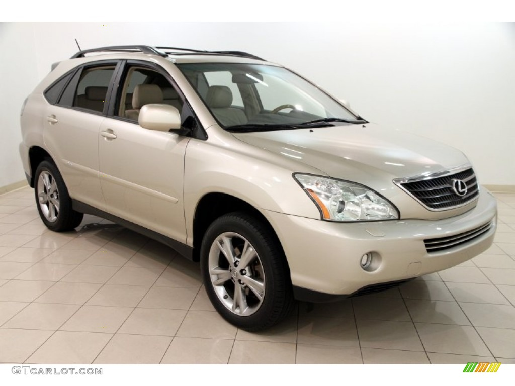 2007 savannah beige metallic lexus rx 400h awd hybrid 107920588 car color. Black Bedroom Furniture Sets. Home Design Ideas