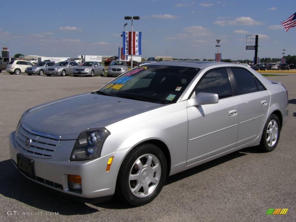 2003 sterling silver cadillac cts sedan 10786553 photo 7. Black Bedroom Furniture Sets. Home Design Ideas