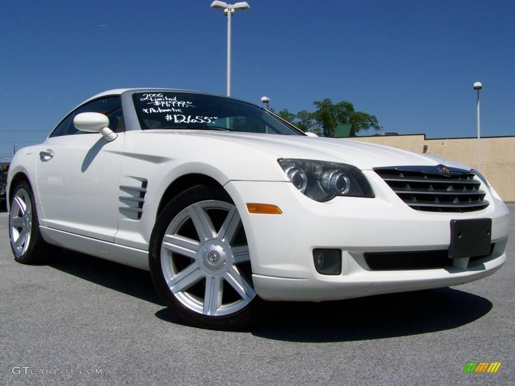 2005 alabaster white chrysler crossfire limited coupe. Black Bedroom Furniture Sets. Home Design Ideas