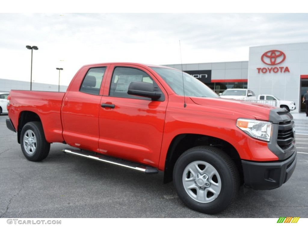 2016 radiant red toyota tundra sr double cab 4x4. Black Bedroom Furniture Sets. Home Design Ideas