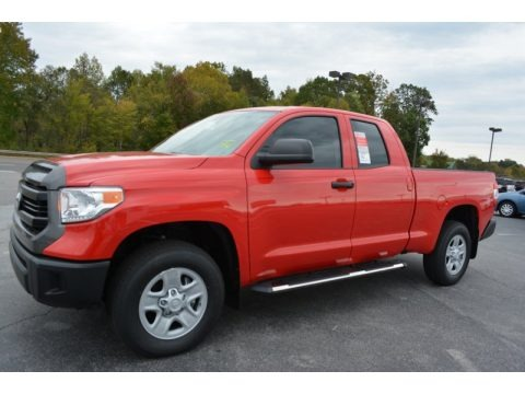2016 Toyota Tundra SR Double Cab 4x4 Data, Info and Specs