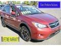 Venetian Red Pearl 2013 Subaru XV Crosstrek 2.0 Premium
