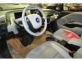 2015 BMW i3 Mega Carum Spice Grey Sensatec & Carum Spice Grey Cloth Interior Prime Interior Photo