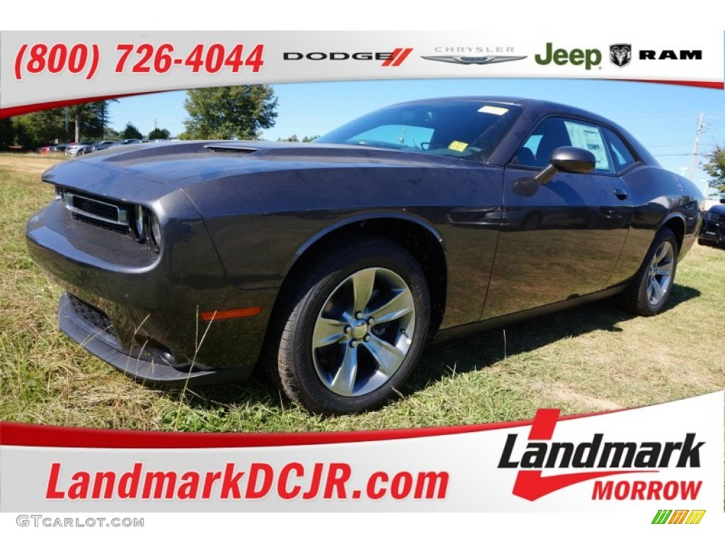 2016 granite crystal metallic dodge challenger sxt. Black Bedroom Furniture Sets. Home Design Ideas