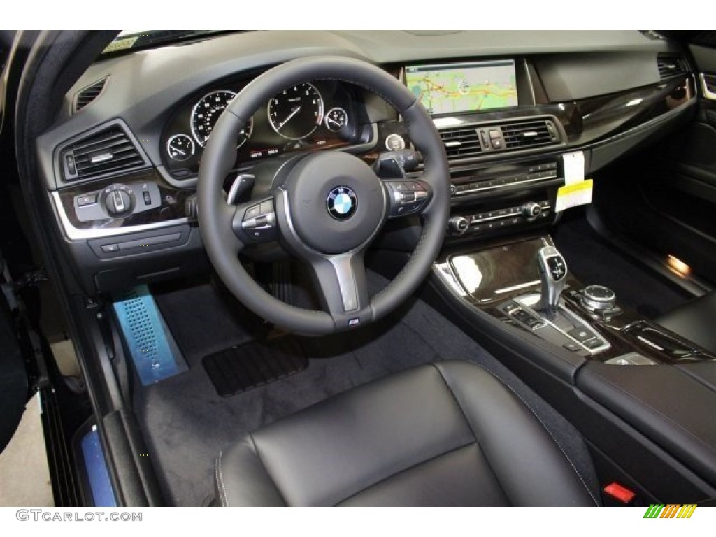 black interior 2016 bmw 5 series 528i sedan photo 107992562. Black Bedroom Furniture Sets. Home Design Ideas