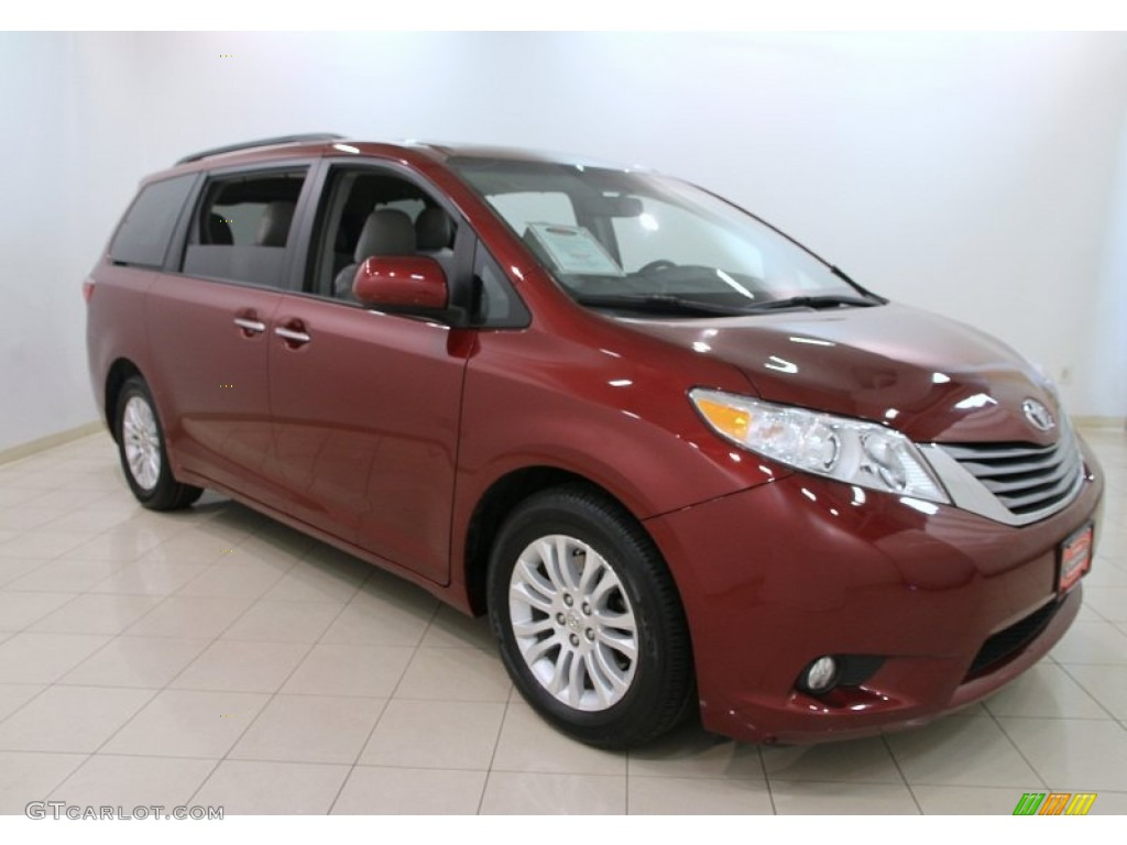 2015 salsa red pearl toyota sienna xle 107952276 car color galleries. Black Bedroom Furniture Sets. Home Design Ideas