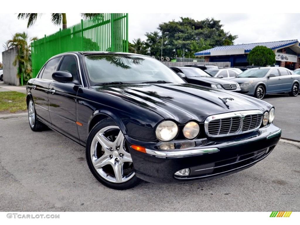 2005 ebony jaguar xj xj8 l 107951101 car color galleries. Black Bedroom Furniture Sets. Home Design Ideas