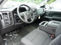 Jet Black 2016 Chevrolet Silverado 1500 LT Double Cab 4x4 Interior Color