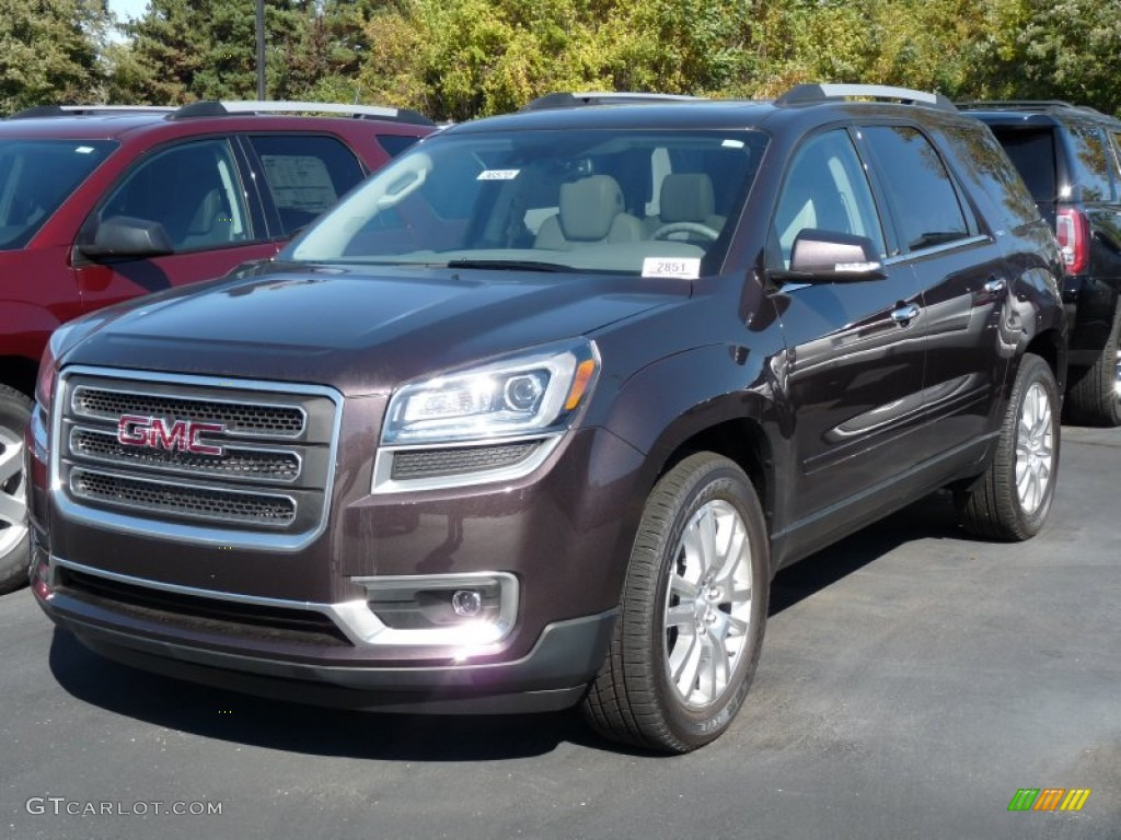 Midnight Amethyst Metallic Gmc Acadia