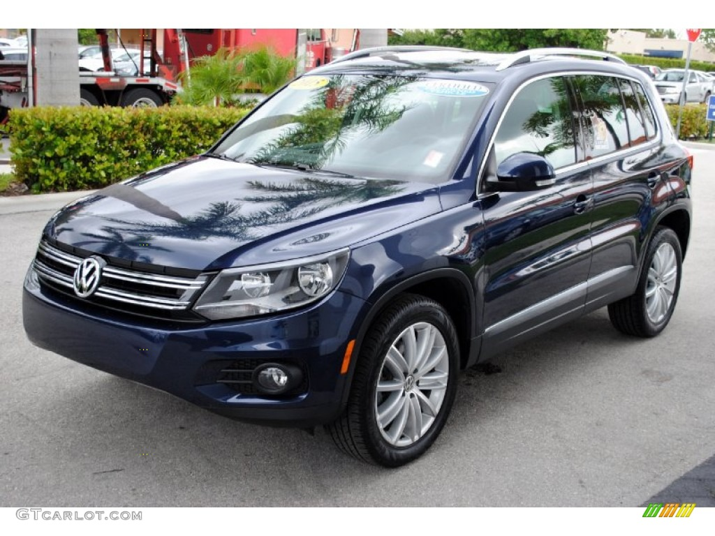 2015 night blue metallic volkswagen tiguan se 107951312. Black Bedroom Furniture Sets. Home Design Ideas