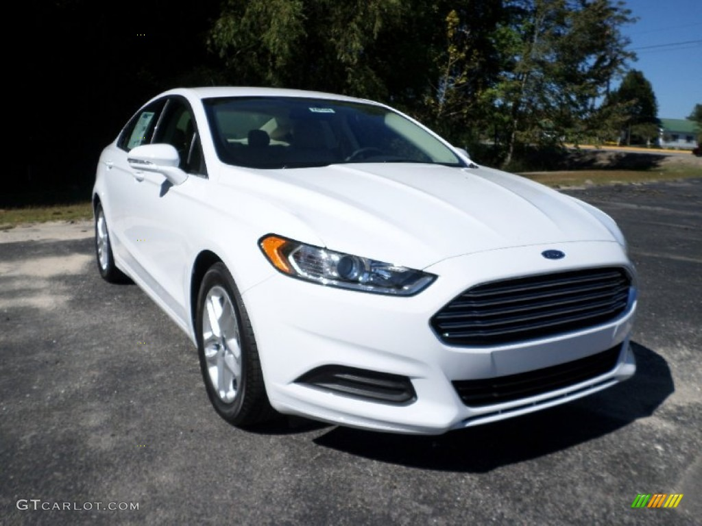 White Ford Fusion >> 2016 Oxford White Ford Fusion Se 107952204 Gtcarlot Com