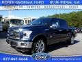 Blue Jeans Metallic 2015 Ford F150 King Ranch SuperCrew 4x4