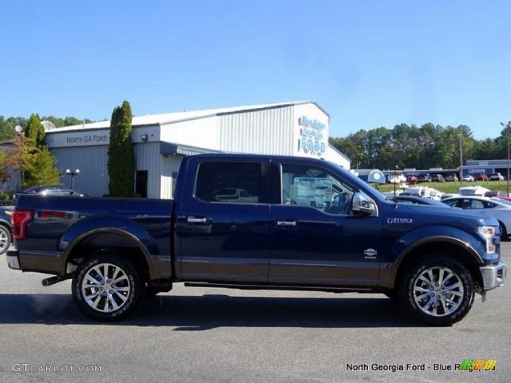 2015 blue jeans metallic ford f150 king ranch supercrew 4x4 107951047 photo 6. Black Bedroom Furniture Sets. Home Design Ideas