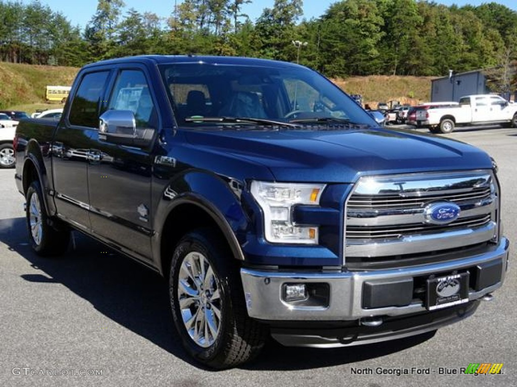2015 blue jeans metallic ford f150 king ranch supercrew 4x4 107951047 photo 7. Black Bedroom Furniture Sets. Home Design Ideas