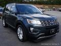 2016 Guard Metallic Ford Explorer XLT 4WD  photo #7