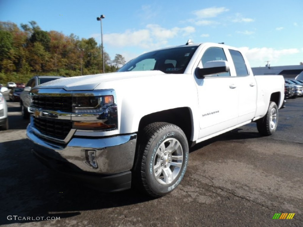 2016 Silverado 1500 LT Double Cab 4x4 - Summit White / Jet Black photo #1
