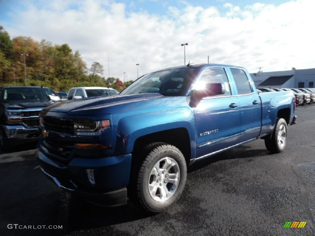 2016 deep ocean blue metallic chevrolet silverado 1500 lt. Black Bedroom Furniture Sets. Home Design Ideas