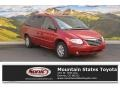 Inferno Red Pearl 2005 Chrysler Town & Country Limited
