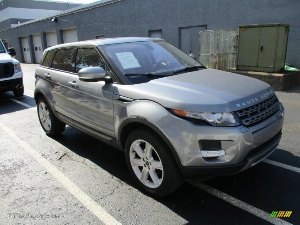Orkney Grey Metallic 2012 Land Rover Range Rover Evoque Pure Exterior Photo 108055537