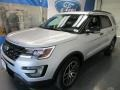 2016 Ingot Silver Metallic Ford Explorer Sport 4WD  photo #3