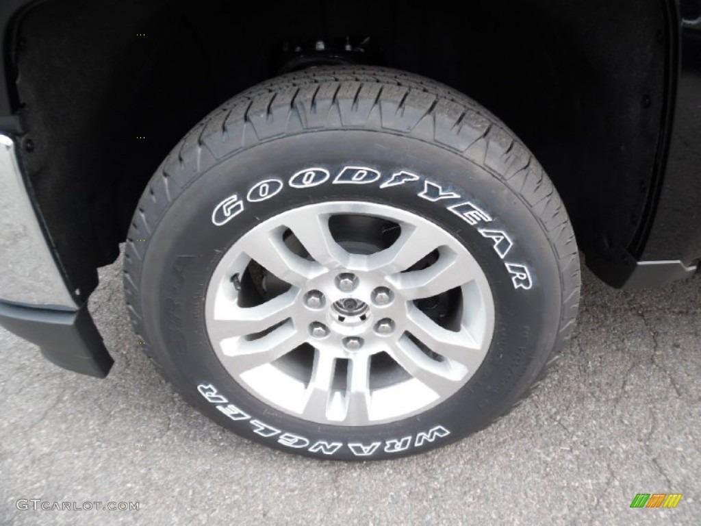 2016 Chevrolet Silverado 1500 LT Double Cab 4x4 Wheel Photo #108060598