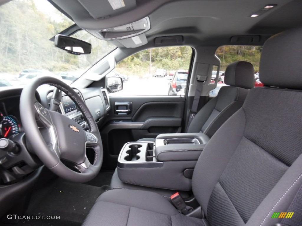 2016 Chevrolet Silverado 1500 LT Double Cab 4x4 Front Seat Photo #108060619