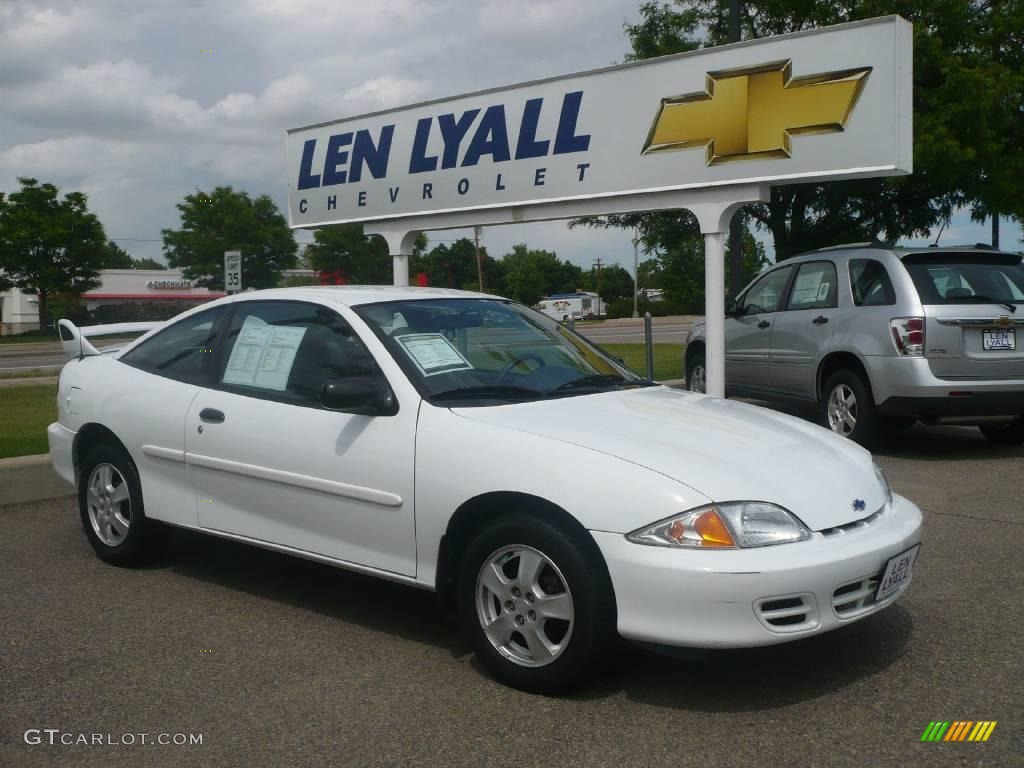 2002 bright white chevrolet cavalier ls coupe 10782100 gtcarlot com car color galleries gtcarlot com
