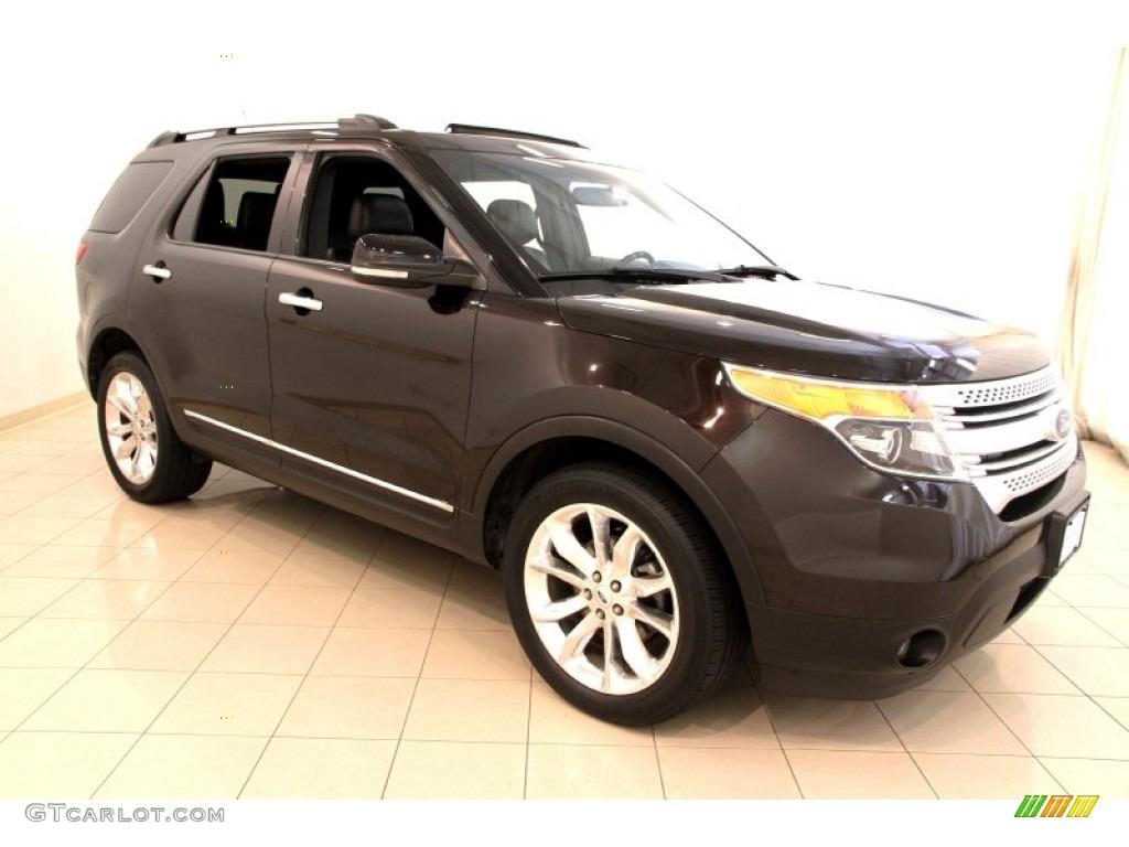2013 kodiak brown metallic ford explorer xlt 4wd 108048076 car color galleries. Black Bedroom Furniture Sets. Home Design Ideas