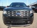 2016 Guard Metallic Ford Explorer XLT 4WD  photo #8
