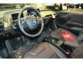 2015 BMW i3 Tera Dalbergia Brown Full Natural Leather Interior Prime Interior Photo