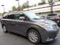 Predawn Gray Mica 2014 Toyota Sienna Limited AWD