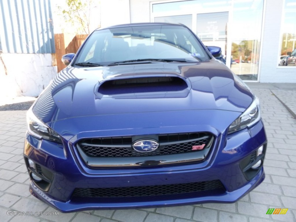 2016 Lapis Blue Pearl Subaru Wrx Sti Limited 108083617 Photo 12